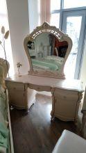 Столик туалетный ПАЛЕРМО CF-8697 с зеркалом Эдем