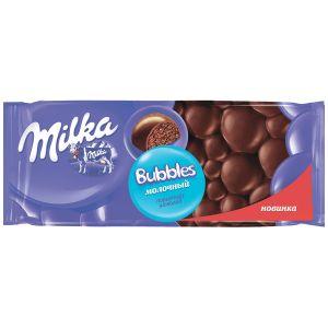 Шоколад MILKA Bubbles Молочный пористый 80г