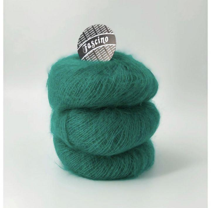 Мохер на шелке Mafil Fascino зеленый
