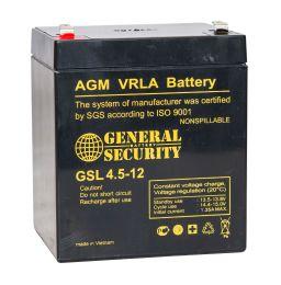 Аккумулятор General Security GSL4.5-12