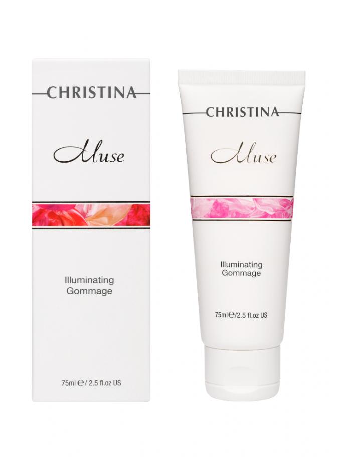 Отшелушивающий гоммаж для сияния кожи Muse Christina (Мус Кристина) 75 мл