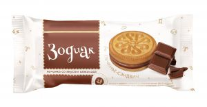 Печенье ЗОДИАК Шоколад 60г