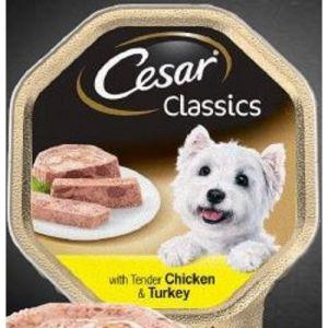 Корм для собак CESAR 150г Паштет курица/индейка
