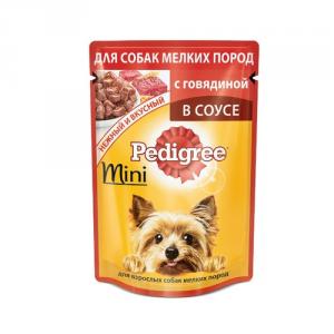 Корм для собак мини PEDIGREE 600г Говядина