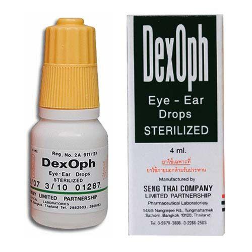 Капли для глаз и ушей DexOph 4 мл