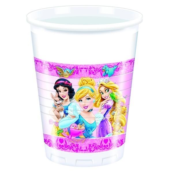 Пластиковые стаканы Принцессы Диснея