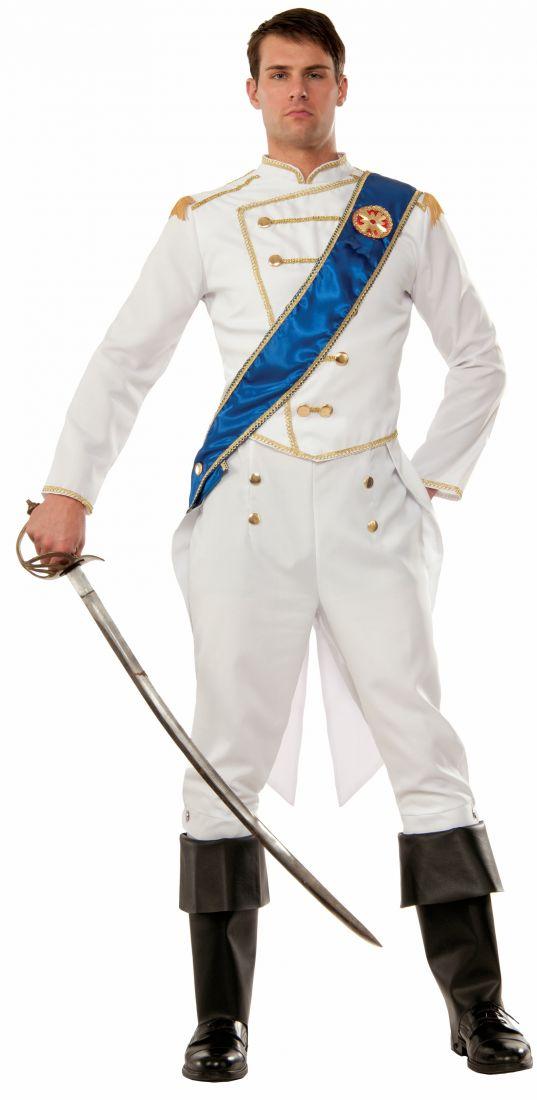 Взрослый костюм белого принца