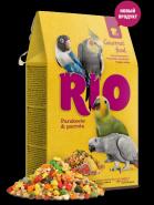 RIO Гурмэ корм для средних и крупных попугаев, 250 гр