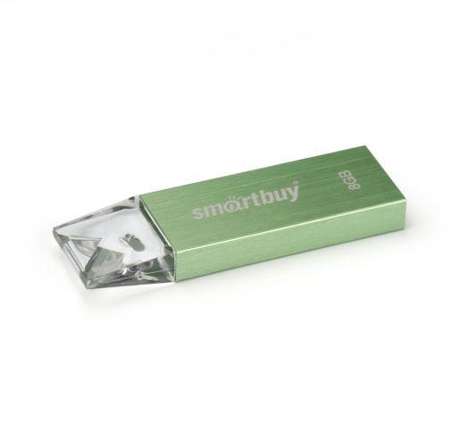 USB накопитель Smartbuy 8GB U10 Green