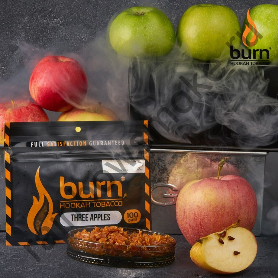 Burn 100 гр - Three Apple (Три Яблока)
