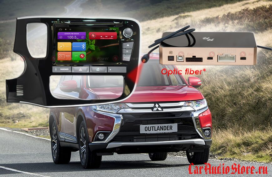 Mitsubishi Outlander RedPower 31156 IPS DSP ANDROID 7