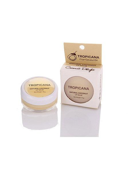 Тайский бальзам для губ кокос Tropicana oil 10 гр