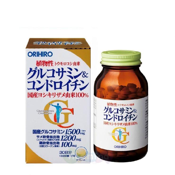 Orihiro Глюкозамин и хондроитин, 360 табл