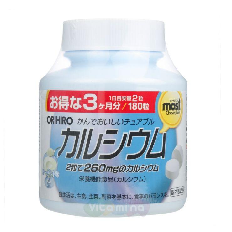 Orihiro Кальций+витамин D, 180 табл