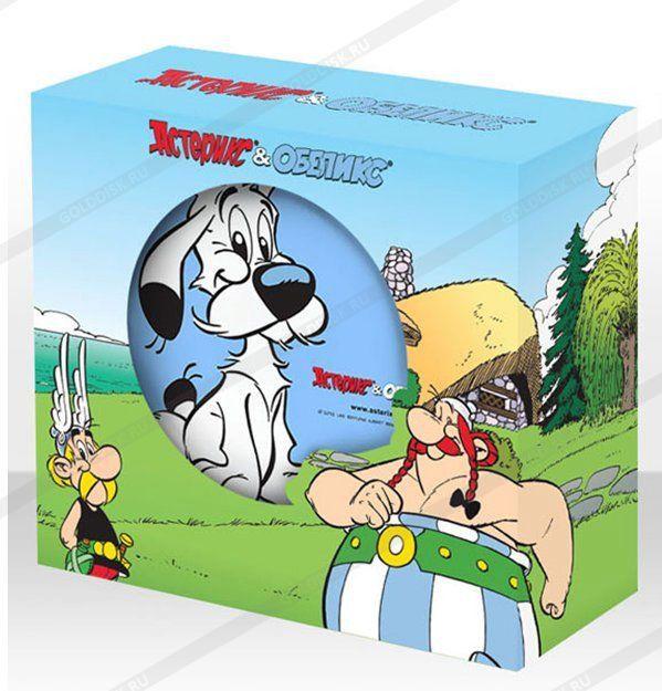Набор детский Астерикс Собака (фарфор) 3 предмета в подарочной упаковке арт. 48010