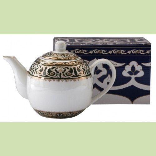 Чайник Восточные узоры 750 мл фарфор