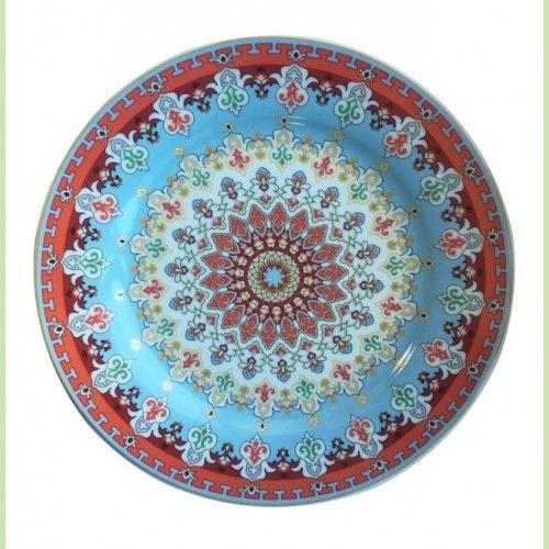 Тарелка обеденная РОКСОЛАНА 26 см фарфор
