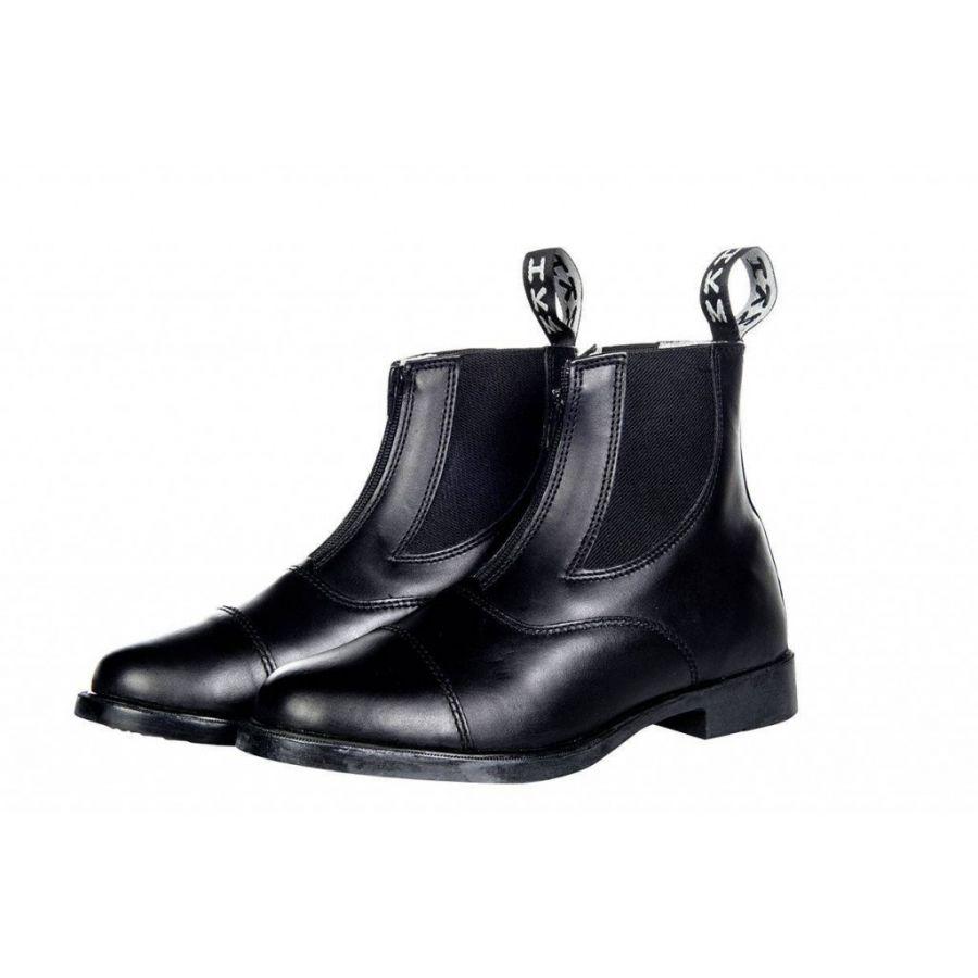 Ботинки для верховой езды - Jodhpurschuh - С эластичной вставкой и молнией. HKM