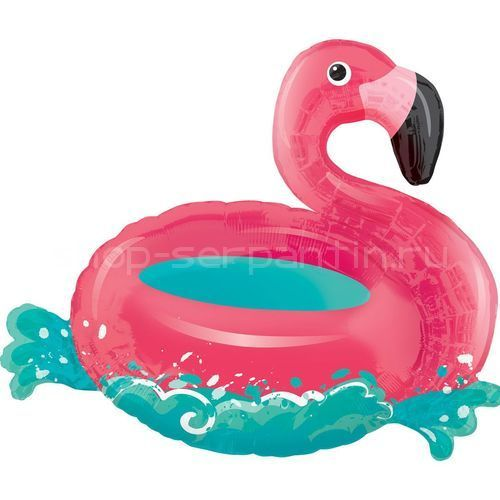 Шар ФИГУРА/P35 Фламинго на воде 76 х 68 см / 3711701/А