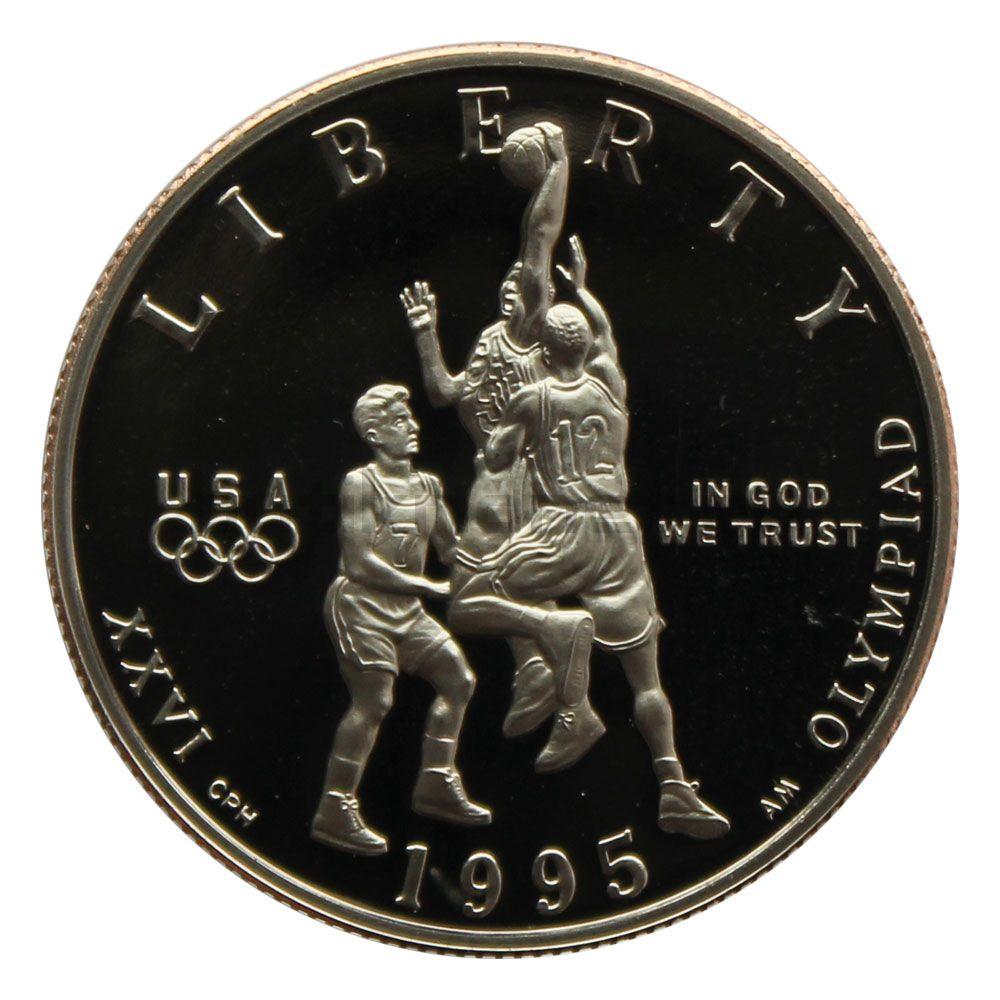 50 центов 1995 США XXVI летние Олимпийские Игры, Атланта 1996 - Баскетбол