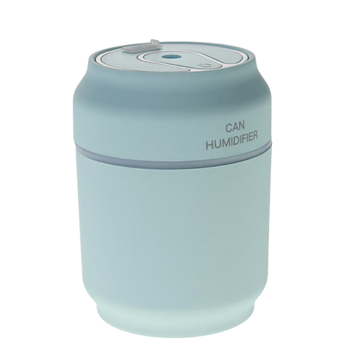 Увлажнитель воздуха USB 3 в 1 Can Нumidifier. Цвет: голубой.