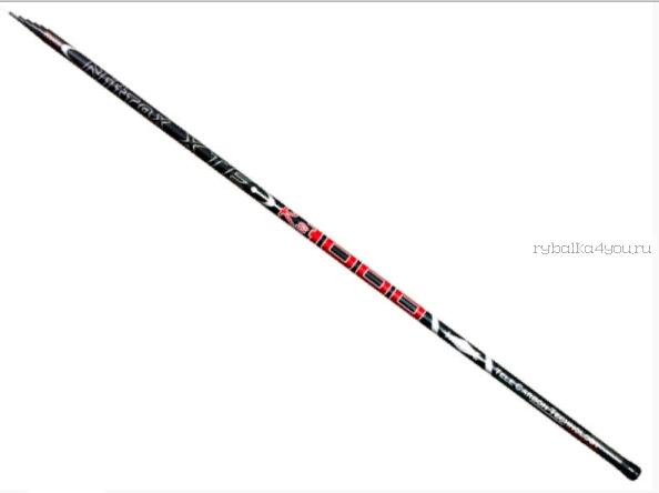Удилище без колец Mifine Nitrax XTE-RS Pole Carbon 500 см / арт 1040-500
