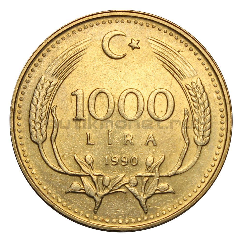 1000 лир 1990 Турция Охрана окружающей среды