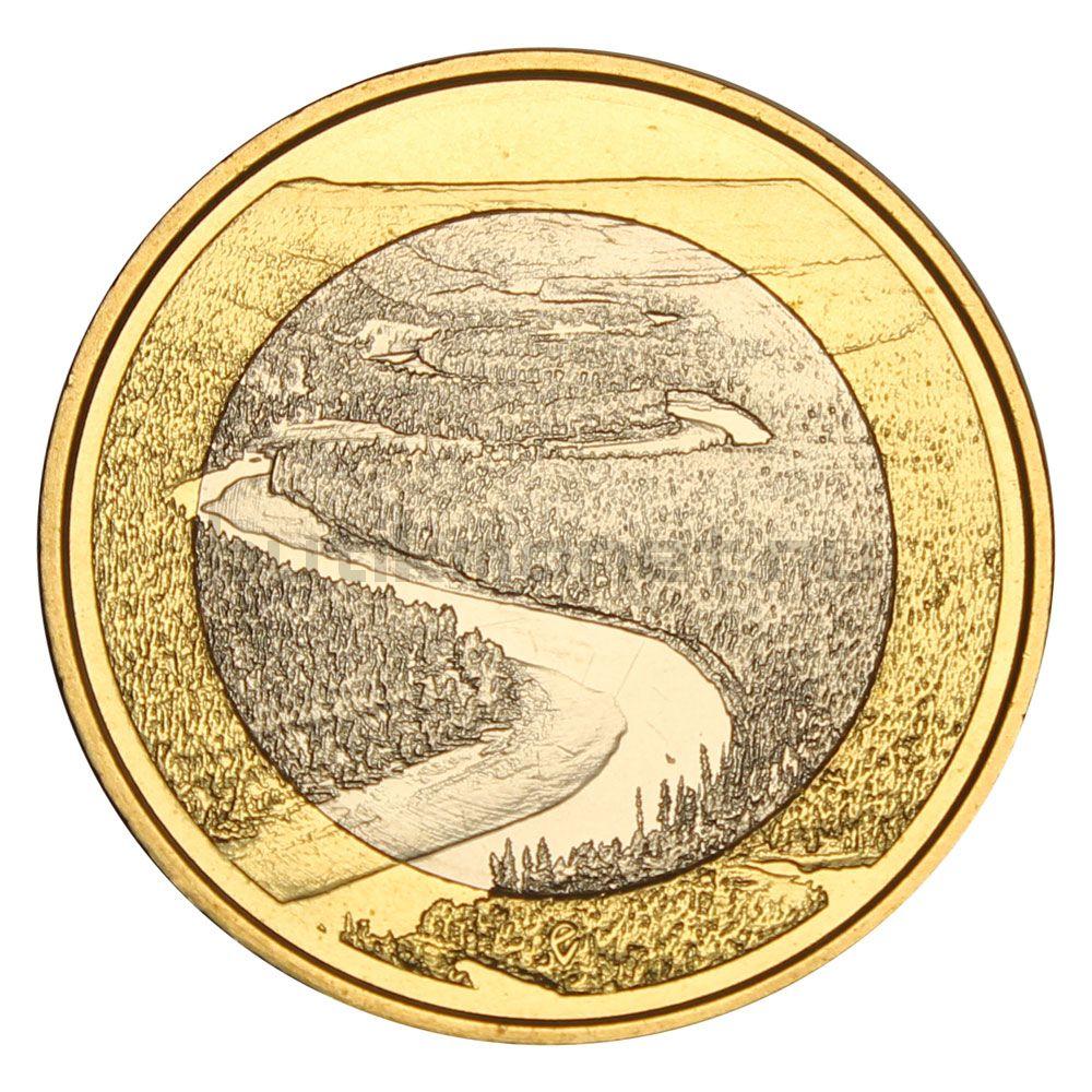 5 евро 2018 Финляндия Оуланка (Финский пейзаж)