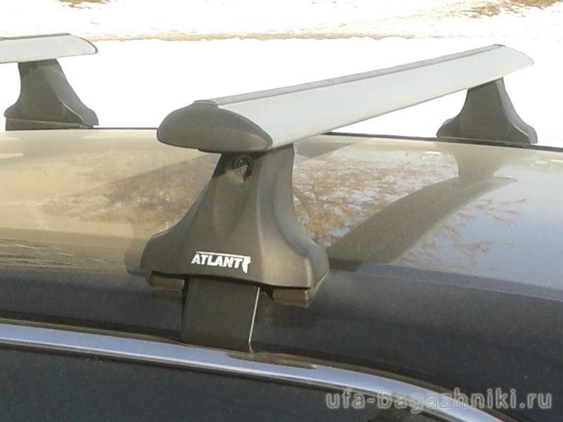 Багажник на крышу Toyota Camry XV50 2012-..., Атлант, крыловидные аэродуги, опора Е