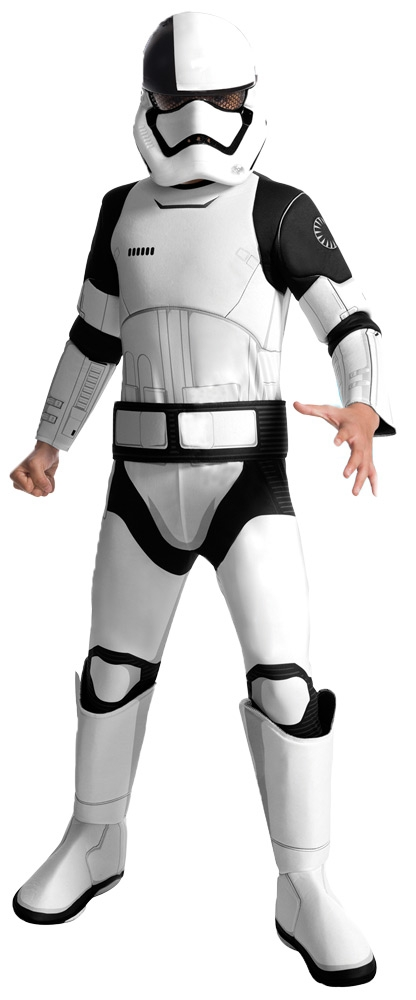 Детский костюм черно-белого штурмовика
