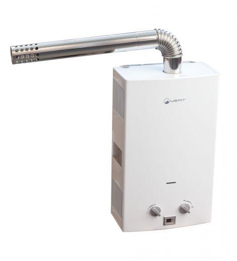 Газовый проточный водонагреватель WERT 10LT white