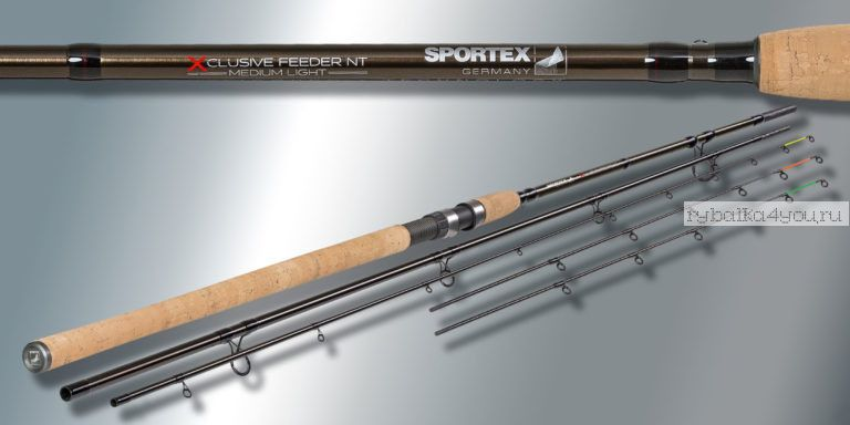 Удилище фидерное Sportex Xclusive Feeder NT Medium Light ML3915 3.90 м 60-120 гр