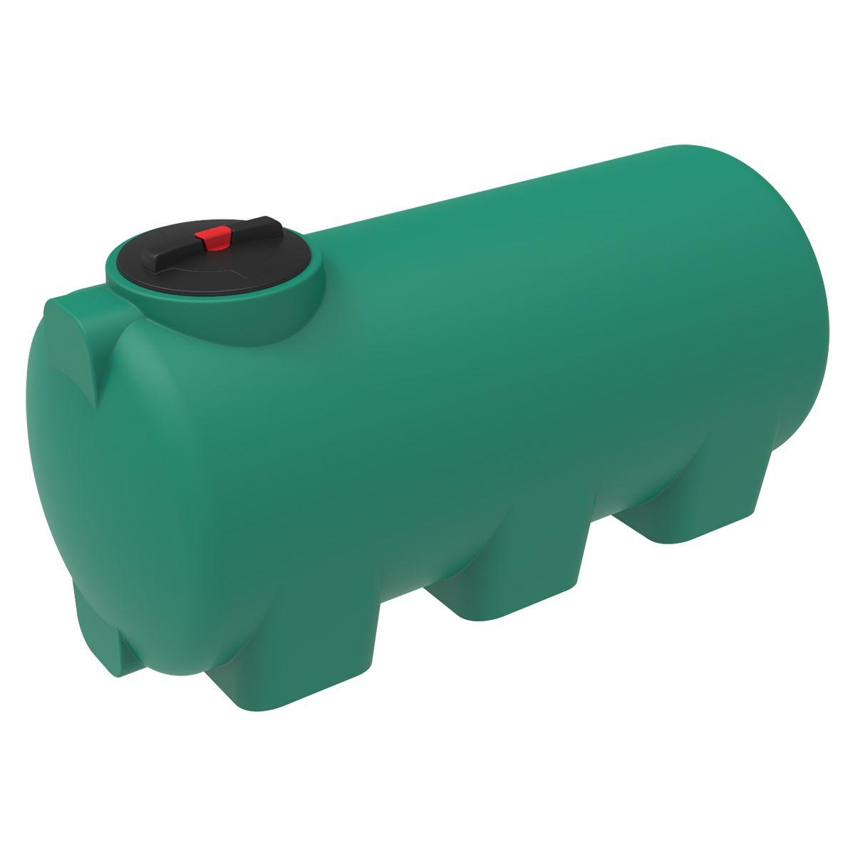 Емкость H 750 литров пластиковая зеленая