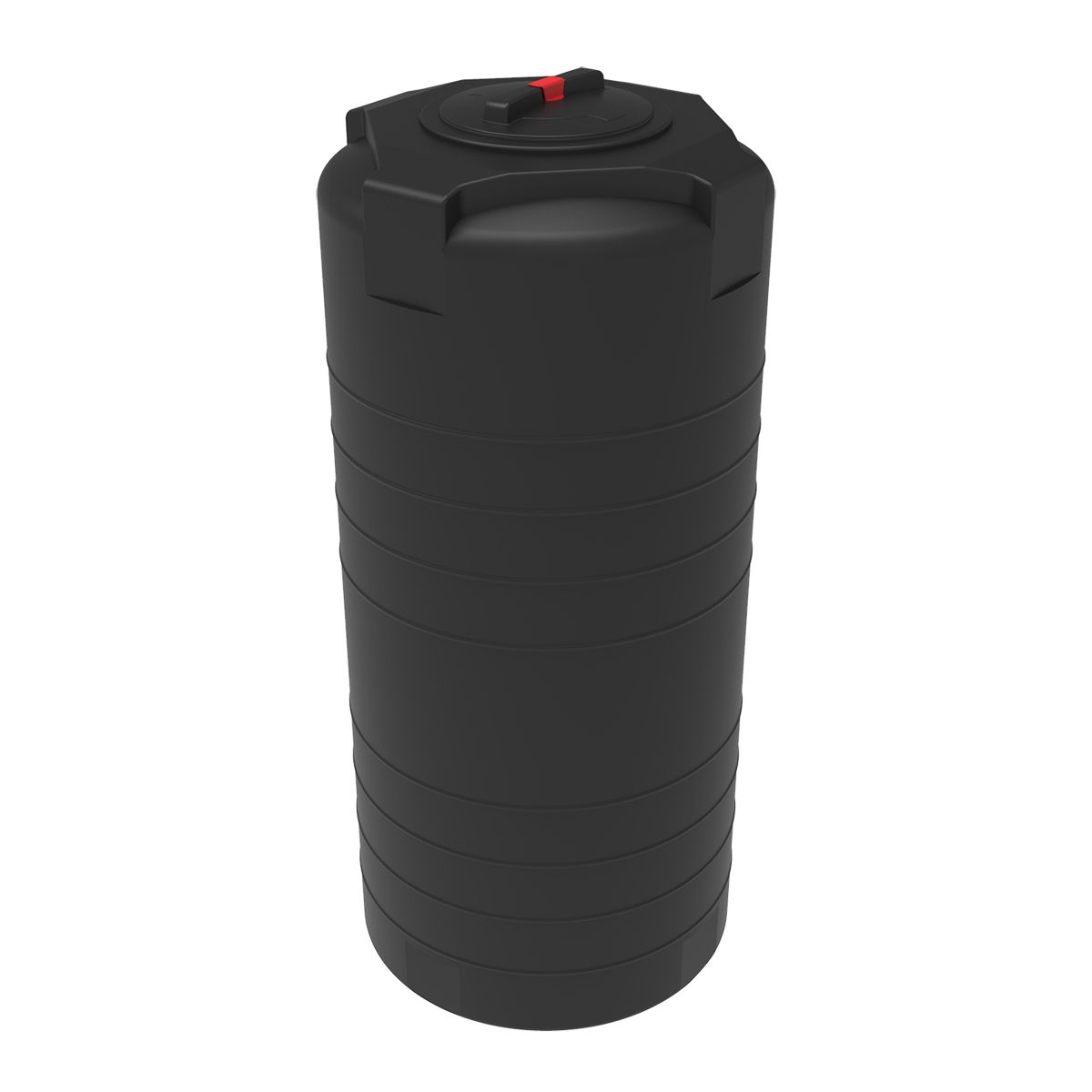 Емкость T 750 литров черная пластиковая