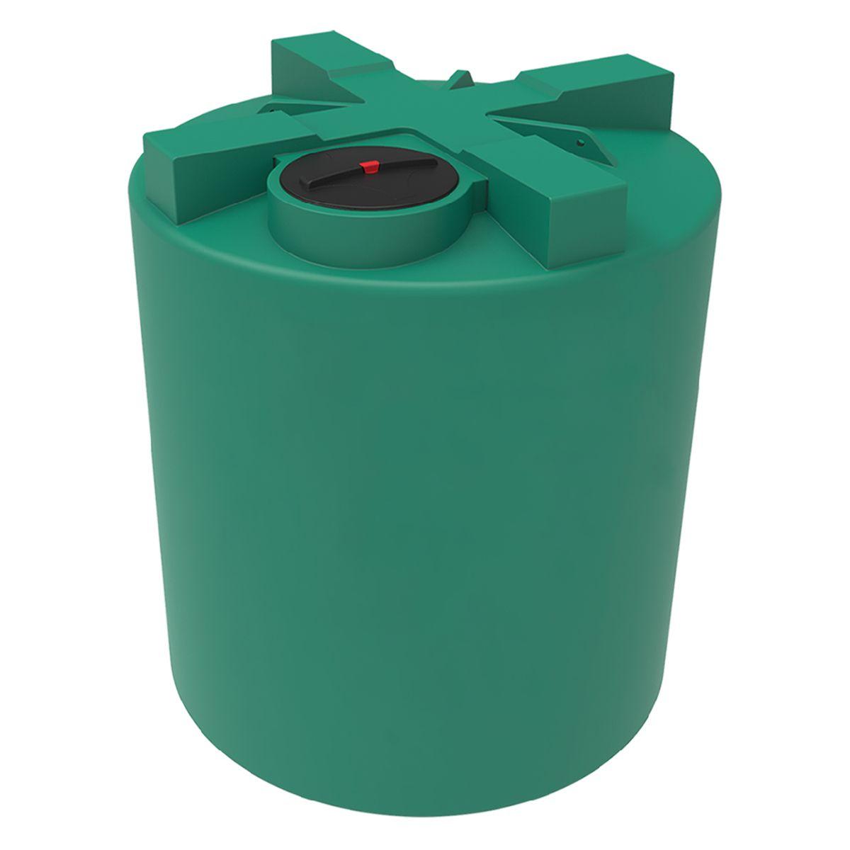 Емкость T 10000 литров зеленая пластиковая