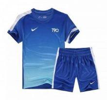 Форма футбольная детская  Nike T90 синяя