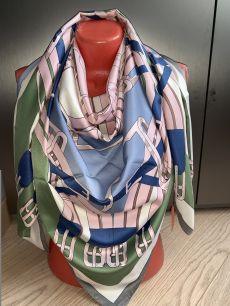 Шелковый платок Hermes, арт .008