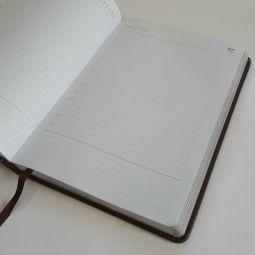 ежедневники с серебристым срезом