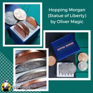 Набор монет Hopping Morgan (Statue of Liberty) by Oliver Magic