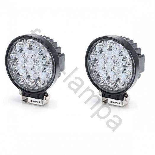 Комплект дополнительных светодиодных фар мощностью 84 ватт