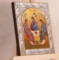 Икона Святая Троица (14х18см)