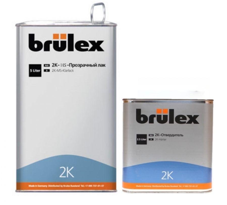 Brulex 2K-HS-Прозрачный лак 5 л + 2К отвердитель