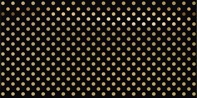 AD/B376/16013   Декор Этуаль чёрный
