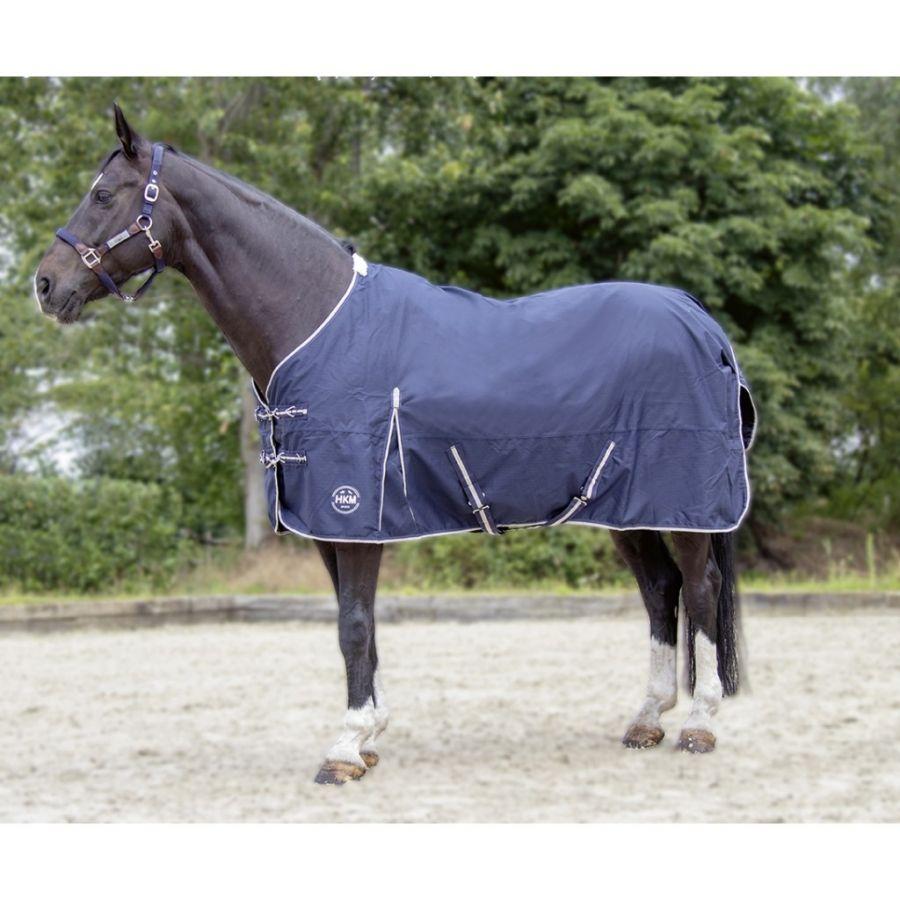 Непромокаемая зимняя попона -Eco-Light- Ткань 600 DEN. Утеплитель 300 гр/м. HKM