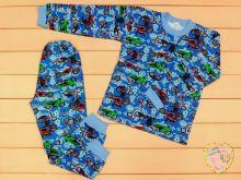 """Пижама универсальная C-PJ023-ITn (футер с начесом) оптом от производителя """"Мамин Малыш""""   Код товара 01591"""