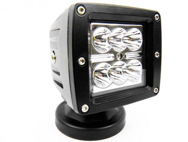 Прямоугольная светодиодная фара точечного свечения 18W SPOT