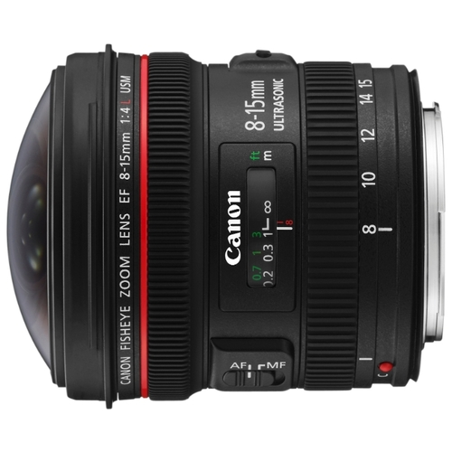 Объектив Canon EF 8-15mm f/4.0L Fisheye USM