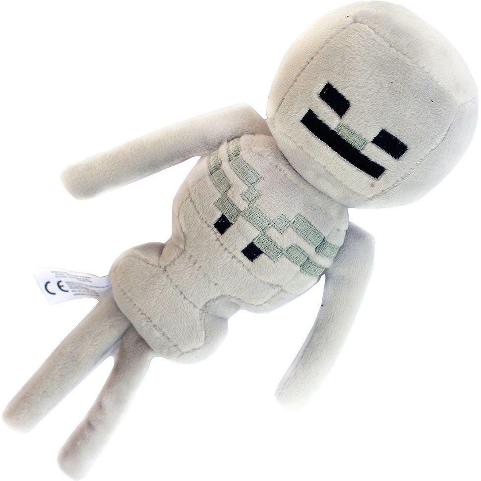 Плюшевый скелет из Майнкрафт
