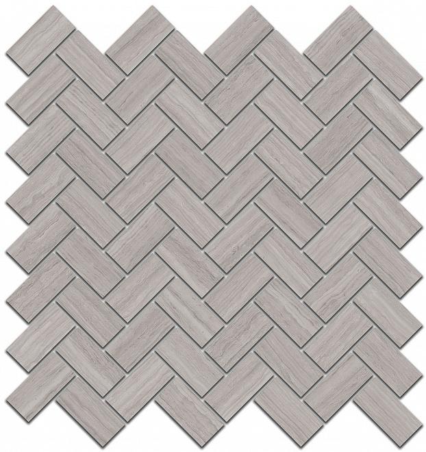 190/002 | Декор Грасси серый мозаичный