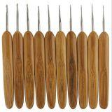 Крючок для вязания с бамбуковой ручкой